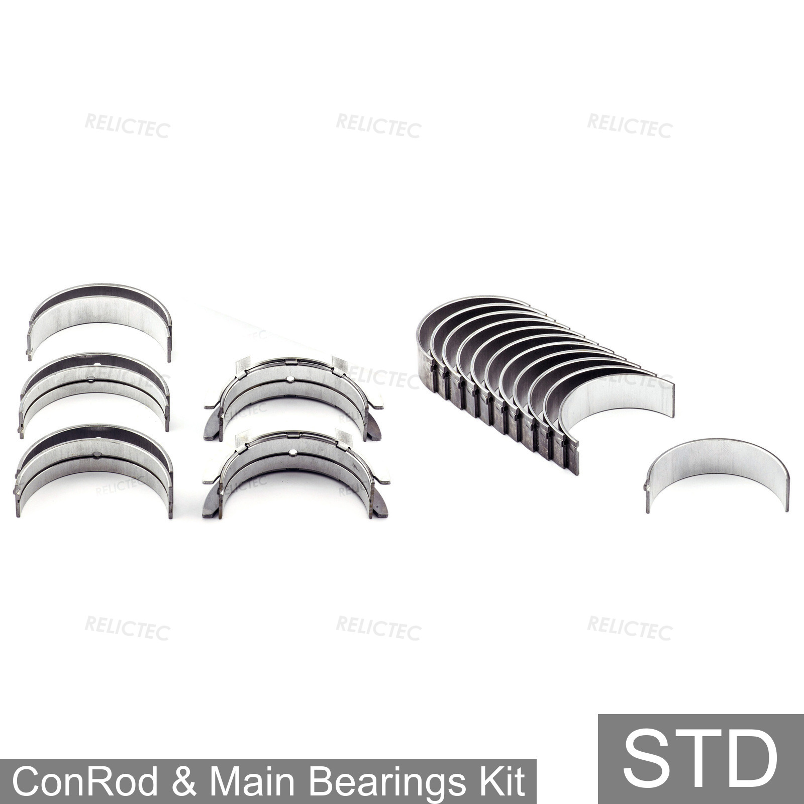 CONROD BIGEND BEARINGS 0.25MM FOR OPEL VAUXHALL VECTRA A 86 87 CALIBRA A 85 25