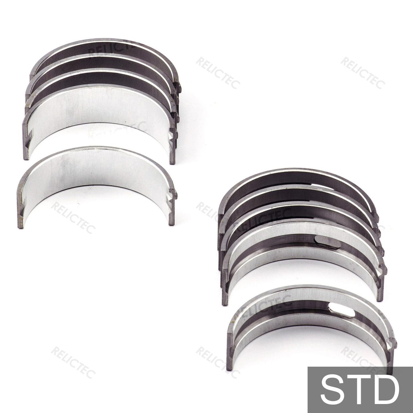 For Audi VW Engine Crankshaft Main Bearing Set Standard Glyco 026 198 491