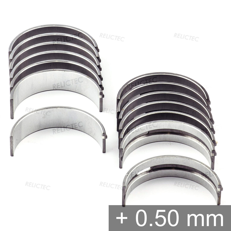 Details about Mercedes 3 0 3 2 2 8 I6 M104 M103 24V E300 G300 300SL Main  Bearings Shells +0 5